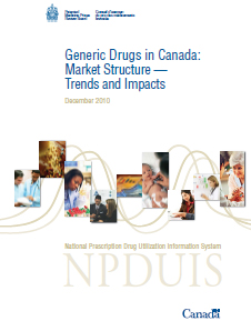 Generic Drugs in Canada: Market Structure — Trends and Impacts