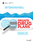 Private Drug Plans in Canada - Part 1: Generic Market 2005–2013