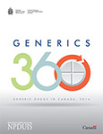 Generics360 - Generic Drugs in Canada, 2014