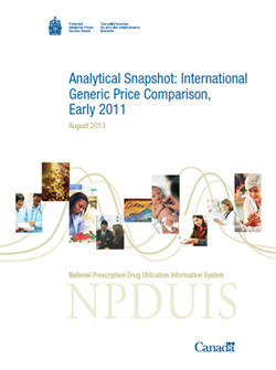 Analytical Snapshot: International Generic Price Comparison, Early 2011