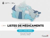 Listes de médicaments des régimes publics au Canada